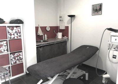 Salle de soin kinésithérapie