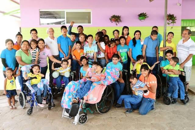 Kinésithérapie pour Hogar San Jose: le projet humanitaire de 4 étudiantes en IFMK